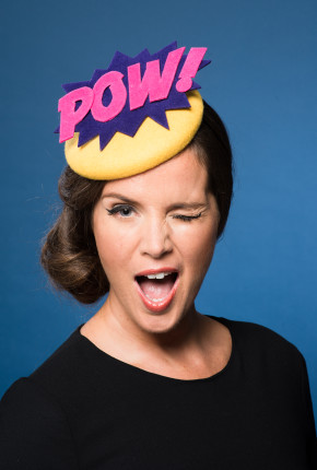 Pow Button Hat