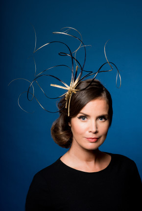 Marion sculptural headpiece